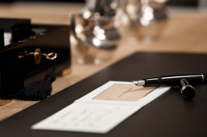 luxus visitenkarten L'ARBRE